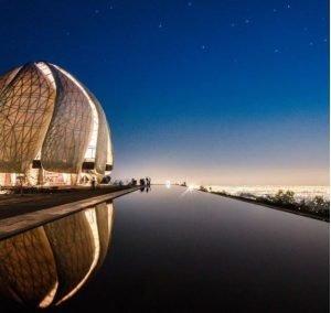 Templo Bahai, la espiritualidad, la calidad arquitectónica